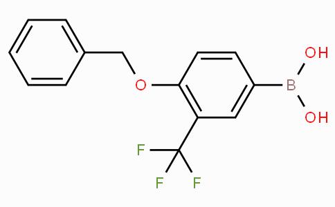 4-Benzyloxy-3-(trifluoroMethyl)phenylboronicacid