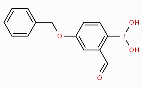 4-Benzyloxy-2-formylphenylboronic acid