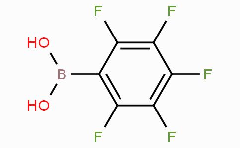Pentafluorobenzeneboronic acid