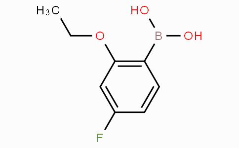 2-Ethoxy-4-fluorophenylboronic acid