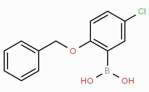 2-苄氧基-5-氯苯硼酸