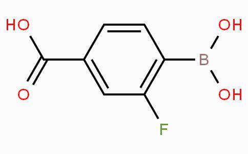 4-羧基-2-氟苯硼酸