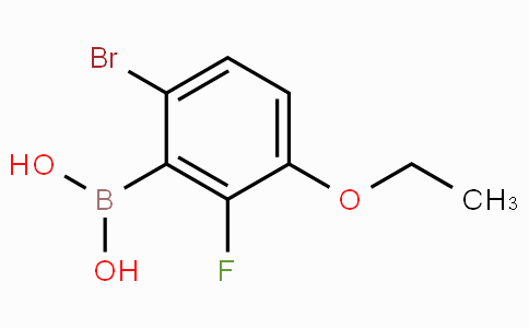 6-Bromo-3-ethoxy-2-fluorobenzeneboronic acid