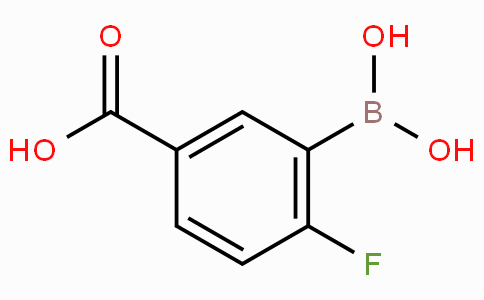 5-Carboxy-2-fluorophenylboronic acid
