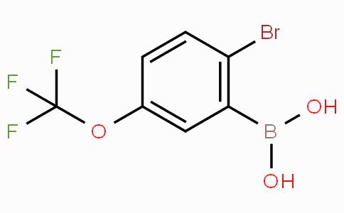 2-Bromo-5-trifluoromethoxyphenylboronic acid