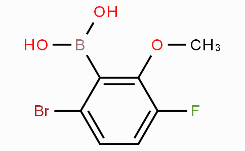 6-Bromo-3-fluoro-2-methoxyphenylboronic acid