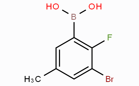 3-Bromo-2-fluoro-5-methylphenylboronic acid
