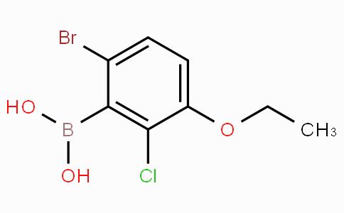 6-Bromo-2-chloro-3-ethoxyphenylboronic acid