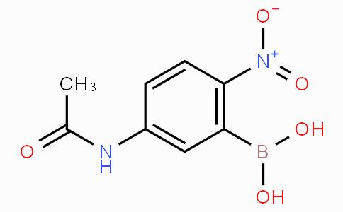 5-Acetamido-2-nitrobenzeneboronic acid
