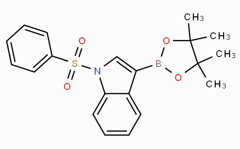 1-(Phenylsulfonyl)indole-3-boronic acid pinacol ester