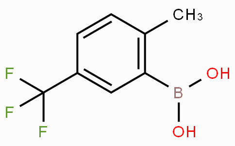 2-Methyl-5-trifluoromethyl-phenylboronic acid
