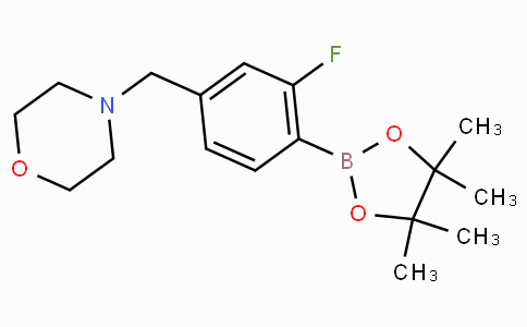 2-Fluoro-4-(morpholinomethyl)phenylboronic acid pinacol ester