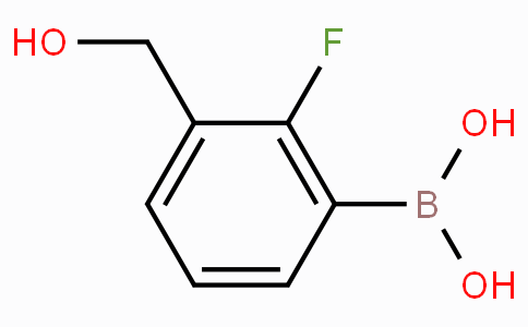 2-Fluoro-3-(hydroxymethyl)phenylboronic acid
