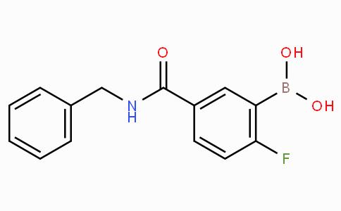 5-(Benzylcarbamoyl)-2-fluorophenylboronic acid
