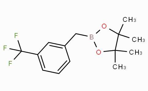 4,4,5,5-Tetramethyl-2-[3-(trifluoromethyl)benzyl]-1,3,2-dioxaborolane