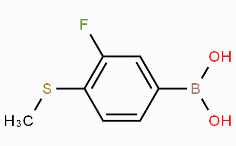 3-Fluoro-4-(methylthio)phenylboronic acid