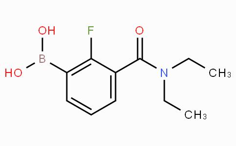 3-(Diethylcarbamoyl)-2-fluorophenylboronic acid