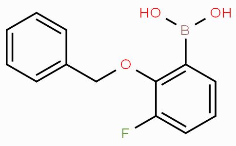 2-Benzyloxy-3-fluorophenylboronic acid