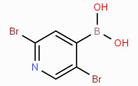 2,5-Dibromopyridine-4-boronic acid