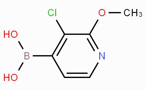 3-Chloro-2-methoxypyridine-4-boronic acid