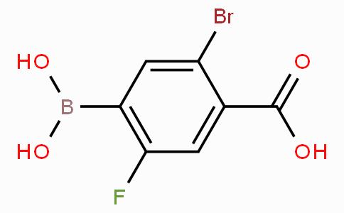 5-Bromo-4-carboxy-2-fluorophenylboronic acid