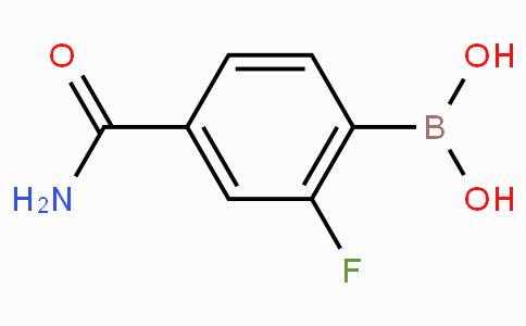 4-Carbamoyl-2-fluorophenylboronic acid