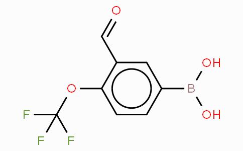 3-Formyl-4-(trifluoromethoxy)phenyboronic acid