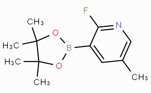 2-Fluoro-5-methylpyridine-3-boronic acid pinacol ester