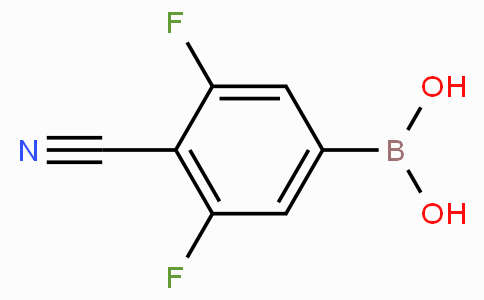 4-cyano-3,5-difluorophenylboronic acid