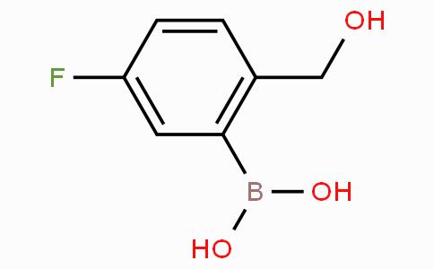 5-Fluoro-2-hydroxymethylphenylboronic acid