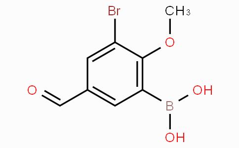 3-Bromo-5-formyl-2-methoxyphenylboronic acid