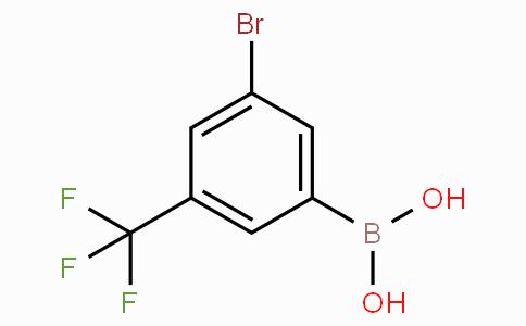 3-Bromo-5-(trifluoromethyl)phenylboronic acid