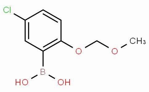 5-Chloro-2-(methoxymethoxy)phenylboronic acid