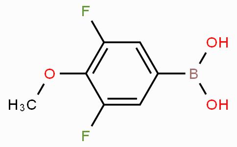 3,5-Difluoro-4-methoxyphenylboronic acid