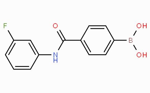 4-(3-Fluorophenylcarbamoyl)phenylboronic acid