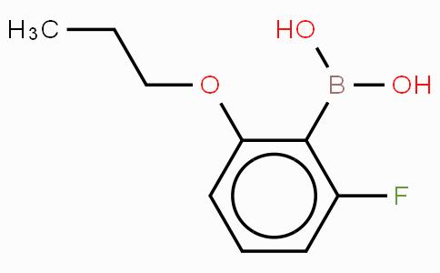 2-Fluoro-6-proproxyphenylboronic acid