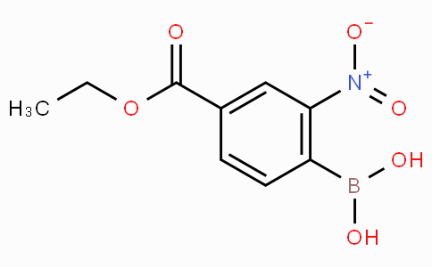 4-Ethoxycarbonyl-2-nitrophenylboronic acid