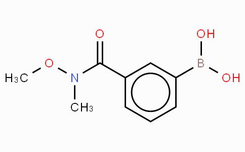 3-(N,O-Dimethylhydroxylaminocarbonyl)phenylboronic acid