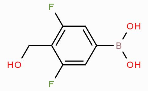 3,5-Difluoro-4-(hydroxymethyl)phenylboronic acid