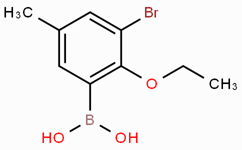 3-溴-2-乙氧基-5-甲基苯基硼酸
