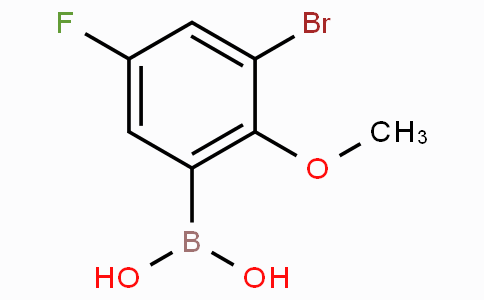 3-Bromo-5-fluoro-2-methoxyphenylboronic acid