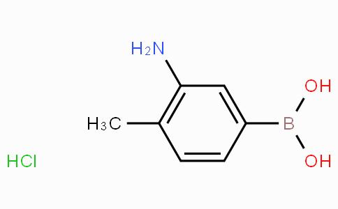 3-Amino-4-methylphenylboronic acid hydrochloride