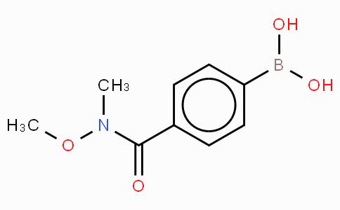 4-(N,O-Dimethylhydroxylaminocarbonyl)phenylboronic acid