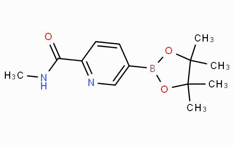 5-(4,4,5,5-Tetramethyl-[1,3,2]dioxaborolan-2-yl)-pyridine-2-carboxylic acid methylamide