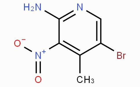 2-Amino-5-bromo-3-nitro-4-picoline