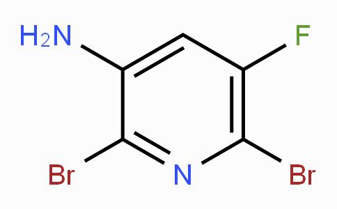 3-Amino-2,6-dibromo-5-fluoropyridine