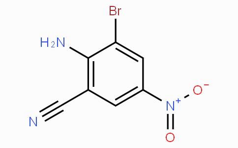 2-Amino-3-bromo-5-nitrobenzonitrile