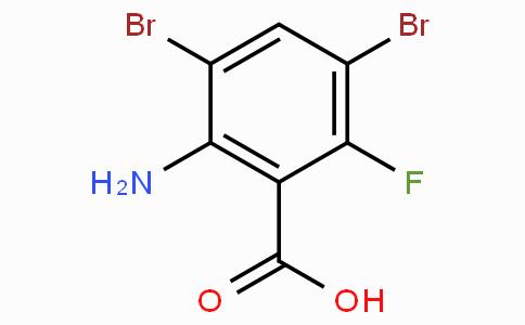 2-Amino-3,5-dibromo-6-fluorobenzoic acid