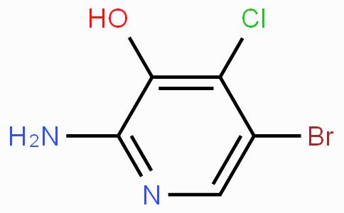 2-Amino-5-bromo-4-chloro-3-hydroxypyridine