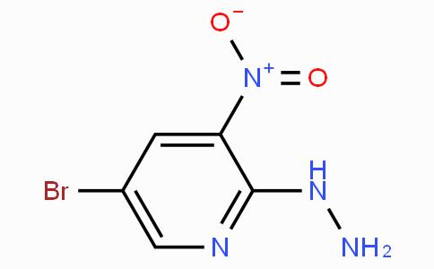 5-Bromo-2-hydrazinyl-3-nitropyridine